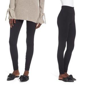 BP high rise cotton full length leggings black